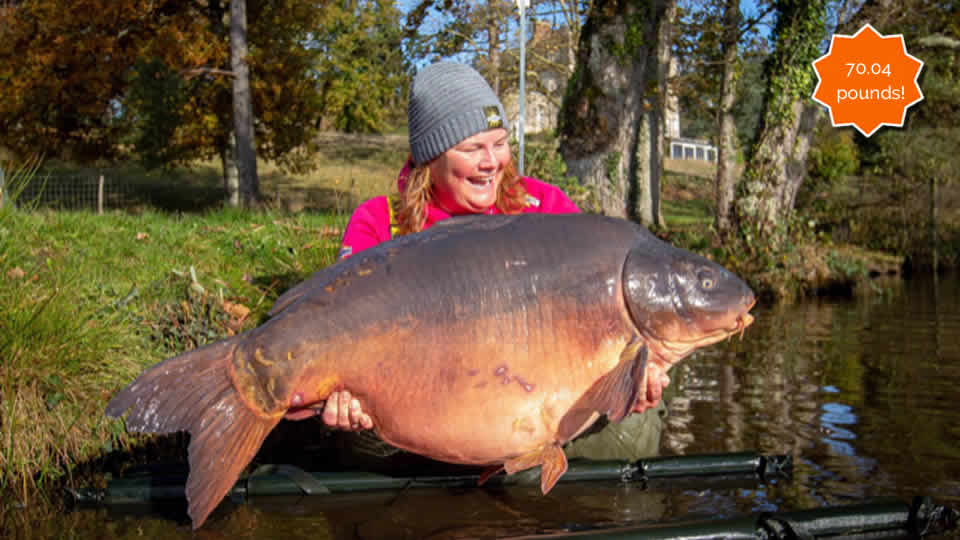 Estate lake - carp fishing France