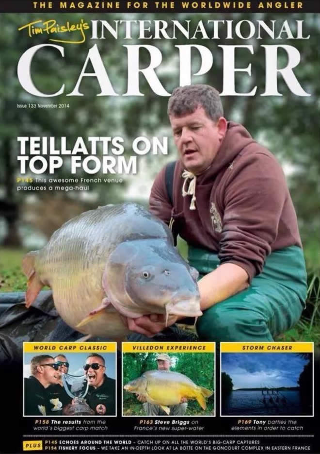 Carpworld - Steve Briggs at Villedon